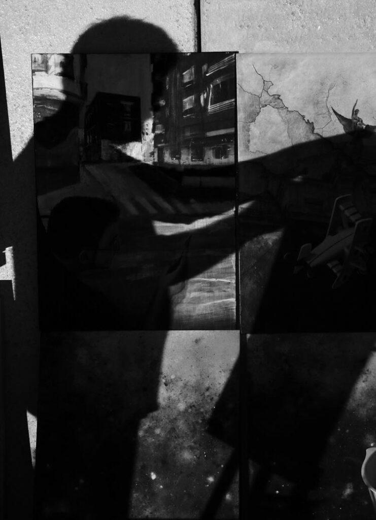 Sombra de Antonio tapia